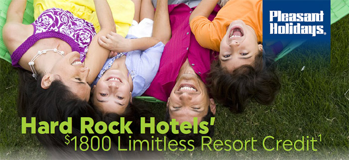 Hard Rock Hotels' - $1,800 Limitless Resort Credit