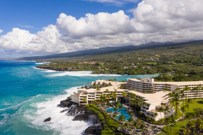 Sheraton Kona Resort Property View